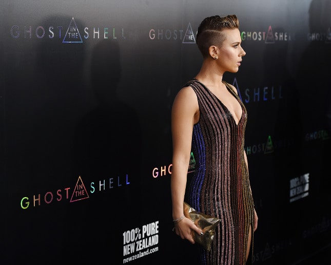 Scarlett Johansson Did Another Ghost In The Shell Premiere Halo News